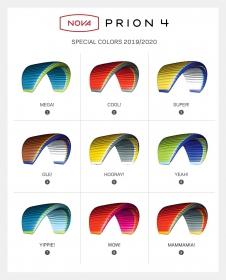 PRION4の特別カラー9色